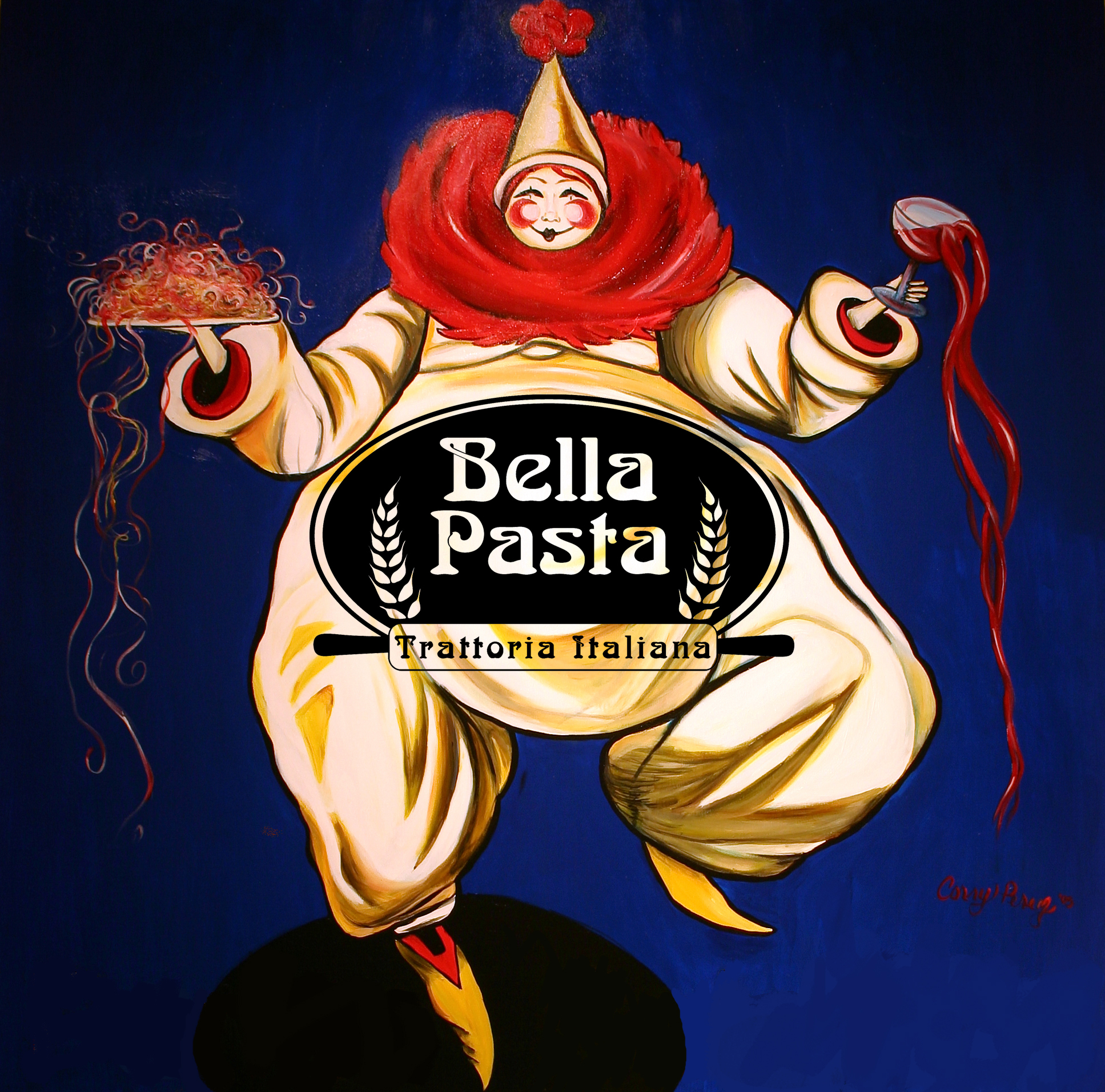 Bella Pasta Clown 2016